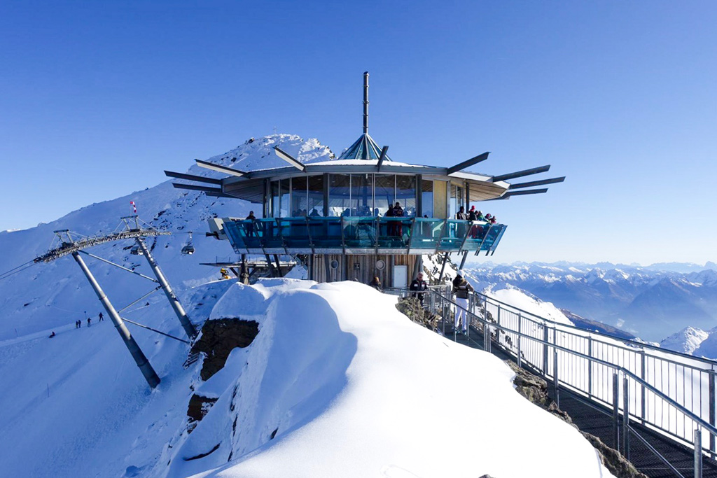 Top Mountain Star restaurant in Obergurgl - Hochgurgl