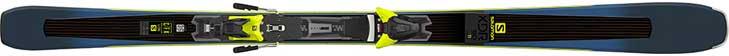 Beste all mountain ski: Salomon XDR 80 Ti