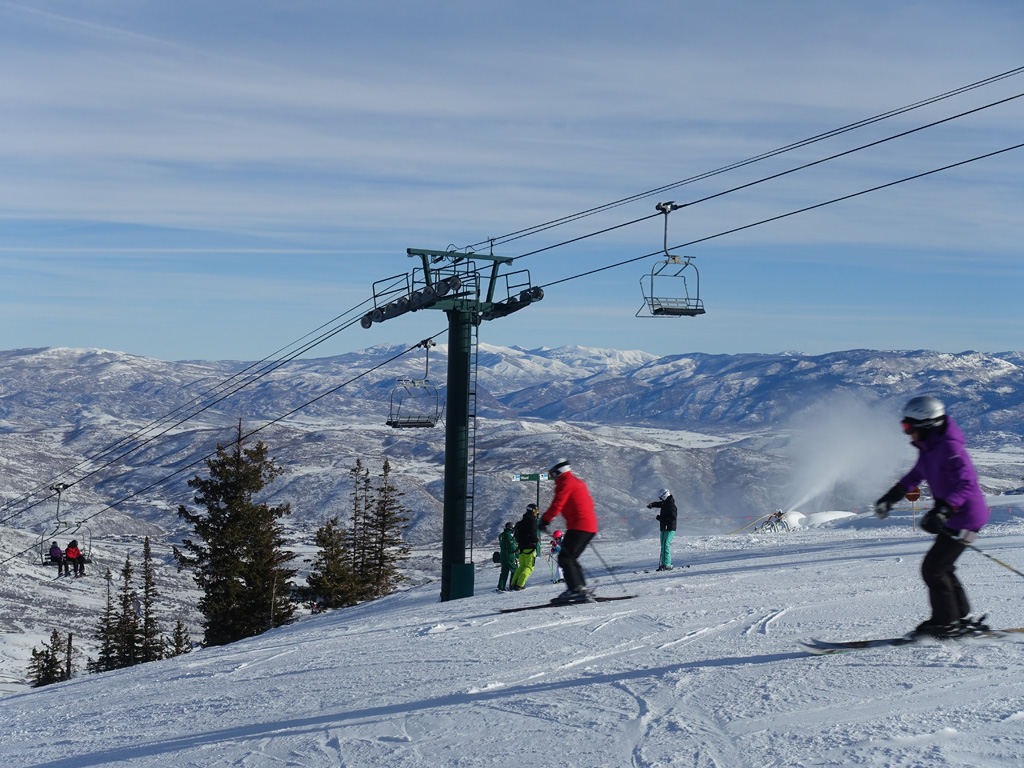 Skiën in Deer Valley