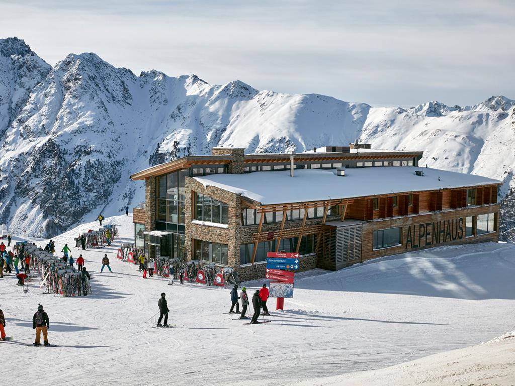 Ligging van Restaurant Alpenhaus