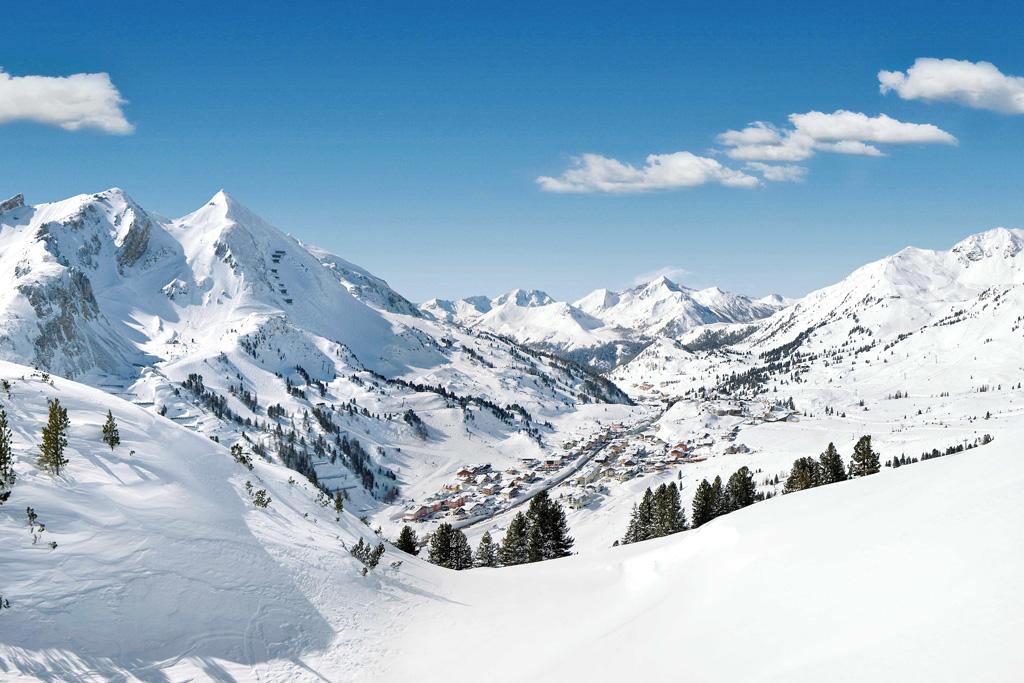 Obertauern winterlandschap