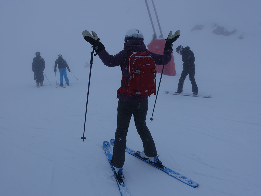 How to survive a ski holiday with bad weather