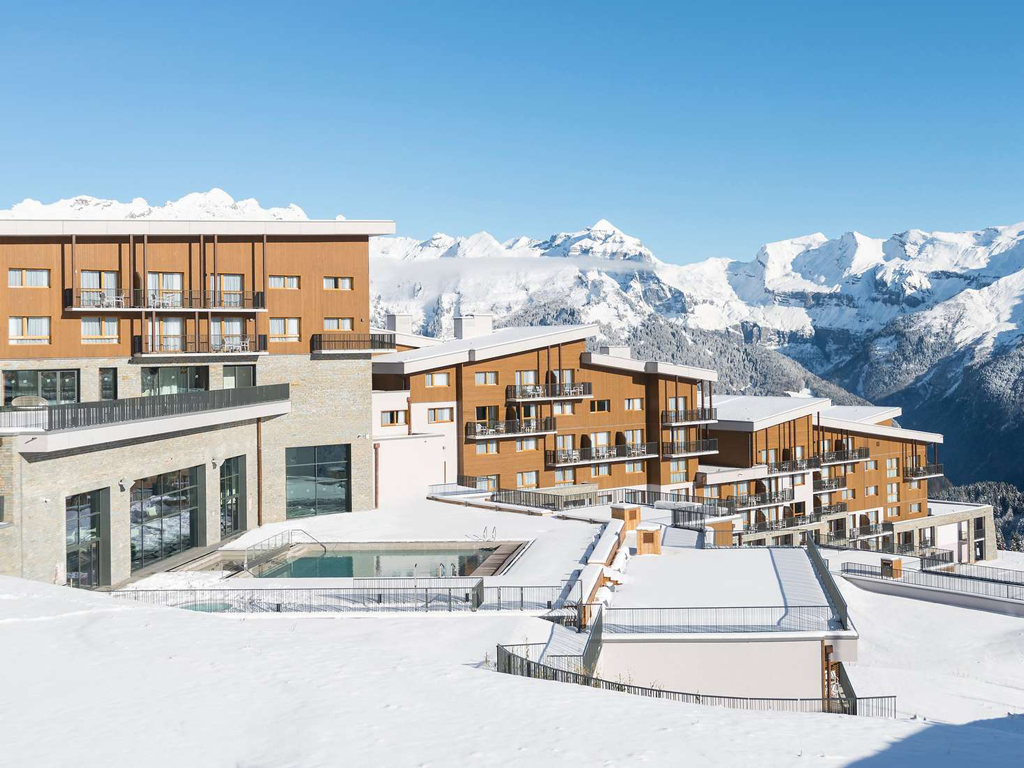 Hotel Berge Winter Schne