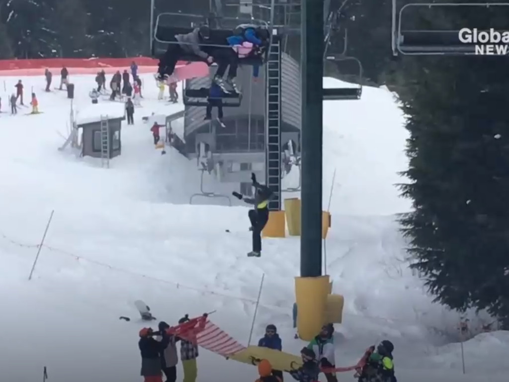 Skiers rescue child dangling from chairlift at Grouse Mountain