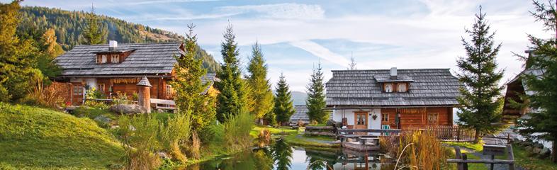 De mooiste almhuttendorpen in Oostenrijk