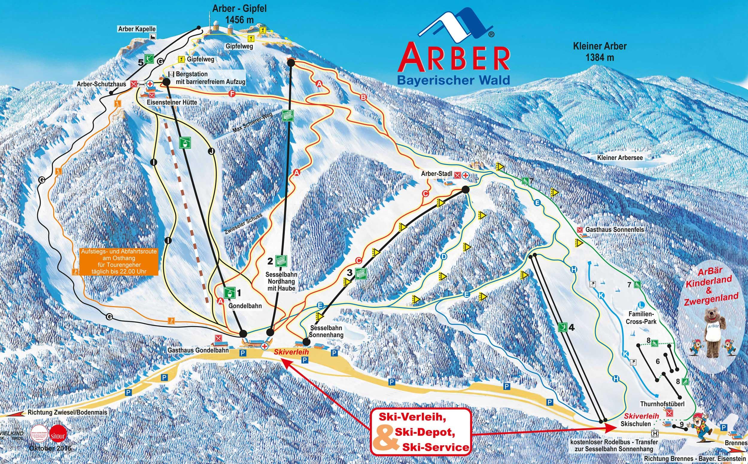 Schneehöhen Bayern Karte
