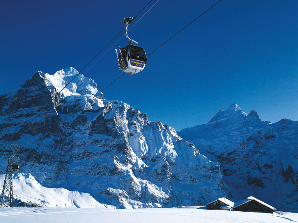 Ski touring berner oberland