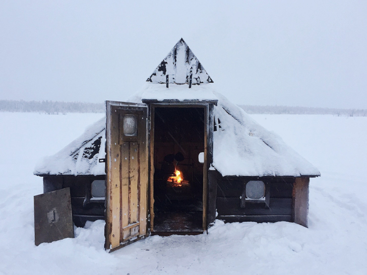 Hut in Lapland