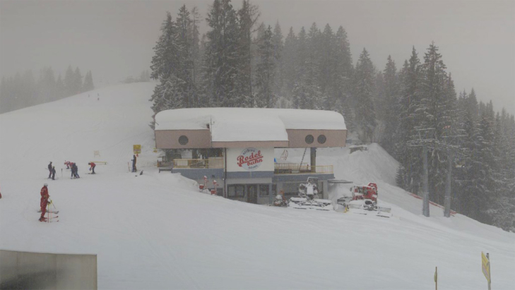 Sneeuw in Going am Wilder Kaiser (SkiWelt Wilder Kaiser - Brixental)