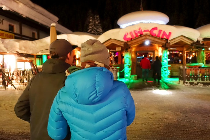 Après-ski bar Cin Cin in Gerlos
