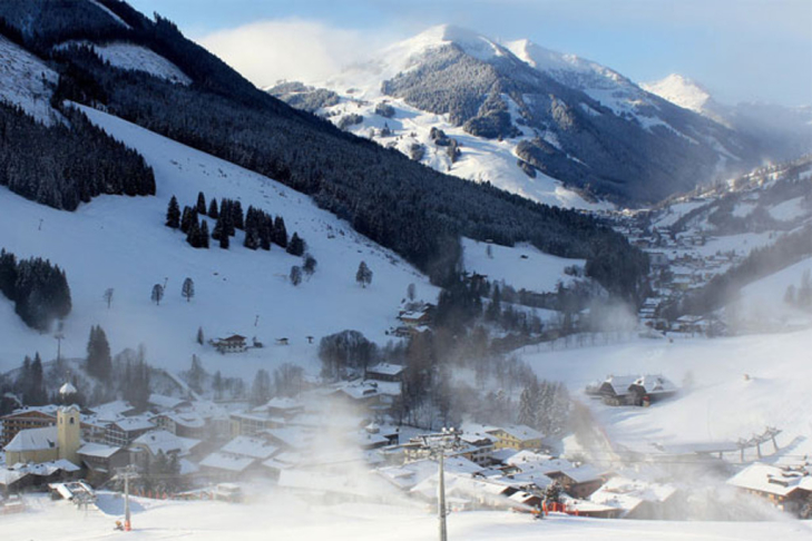 The village of Saalbach