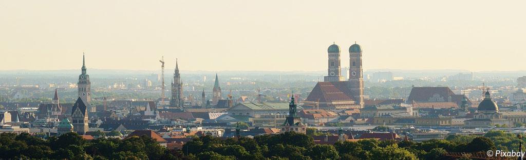 Stadsaanzicht München