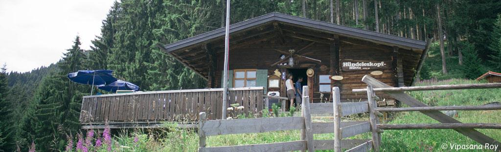 De Hündeleskopfhütte in Pfronten - Kappel
