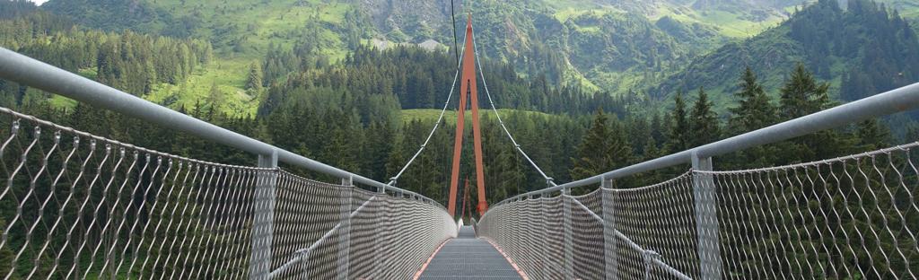 Golden Gate Bridge der Alpen in Saalbach Hinterglemm