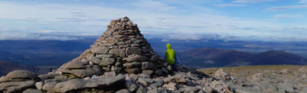 Cairngorm uitzicht schotland