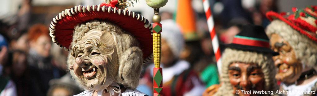 Carnaval in Tirol een Oostenrijkse traditie