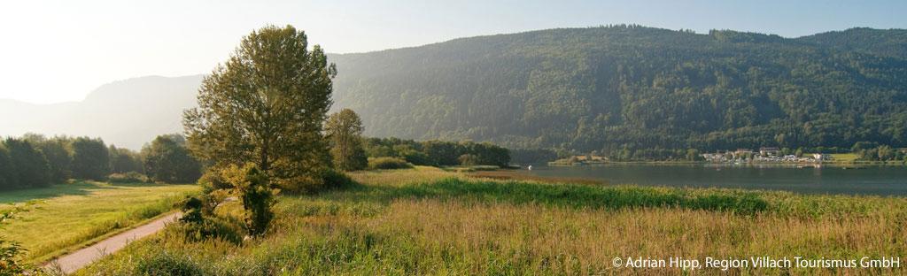Wandelen bij Villach om de Ossiacher See