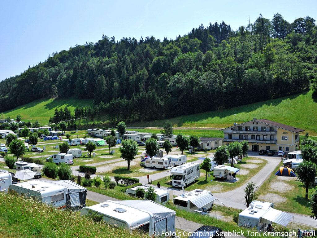Camping in de buurt van de Achensee
