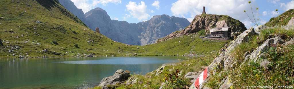Bergmeer op de Karnischer Höhenweg