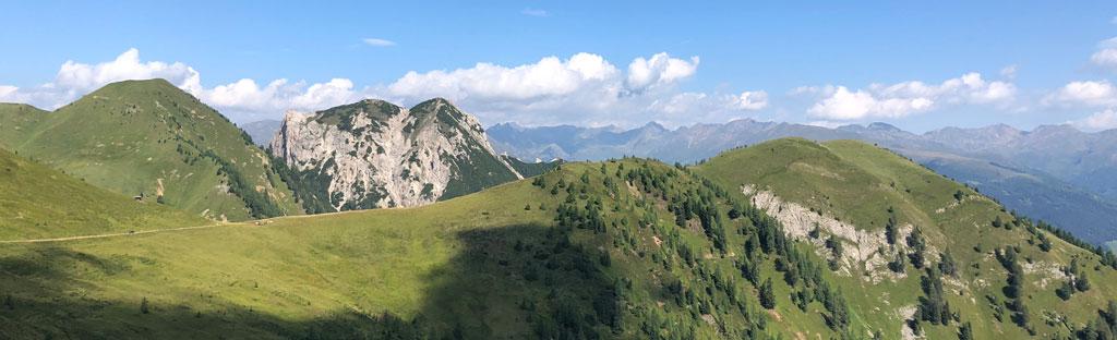 Uitzicht op de bergen in Osttirol