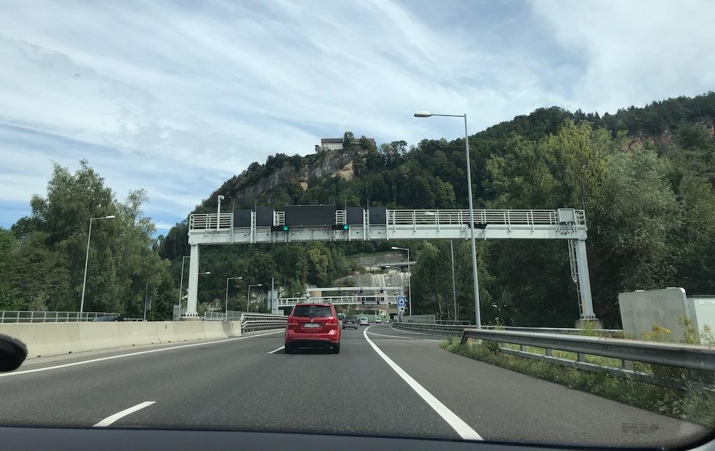 snelweg Oostenrijk