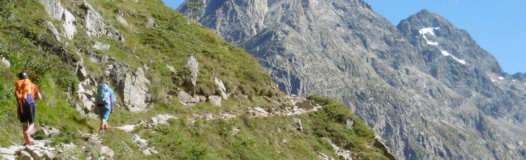 wandelen ecrin bergpad gezond