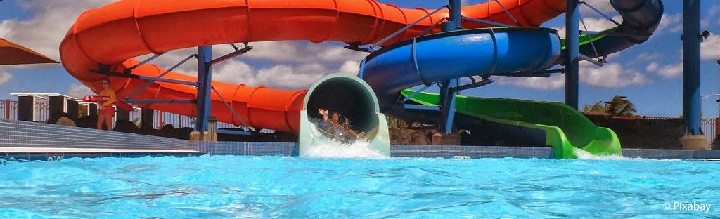 glijbanen zwembad