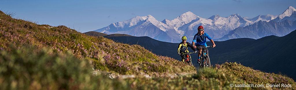 Trails voor beginnende mountainbikers in Saalbach