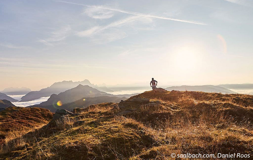 Trail en Sky race in Saalbach