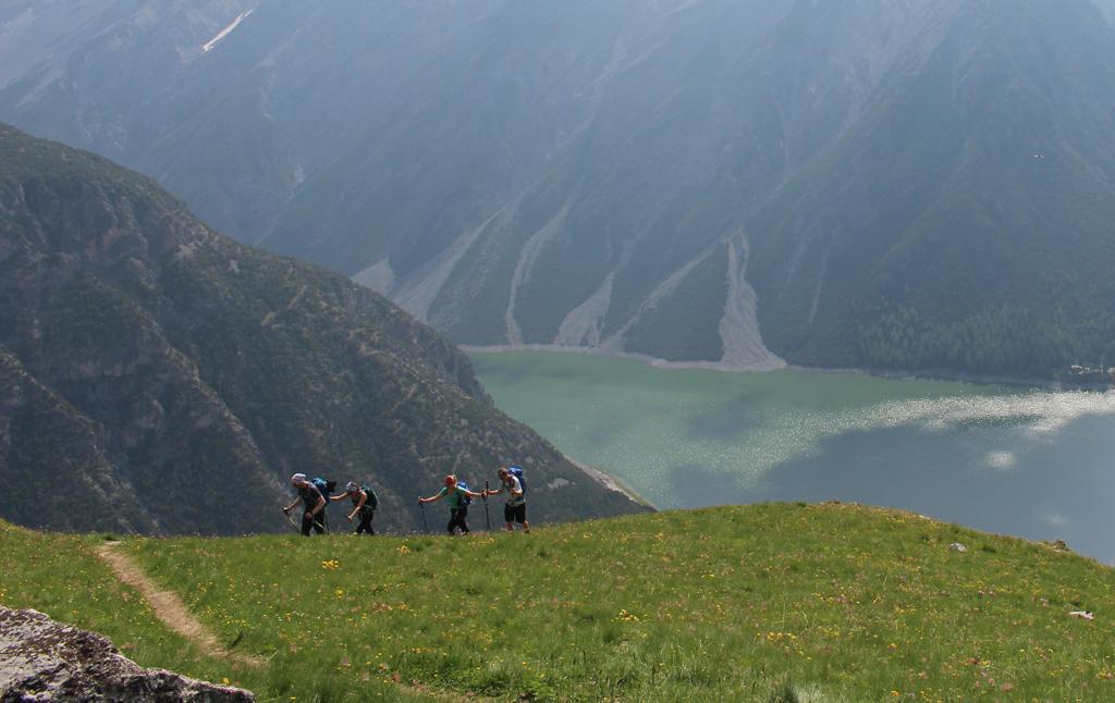 Wandelen in Livigno naar de Cima Cavalli