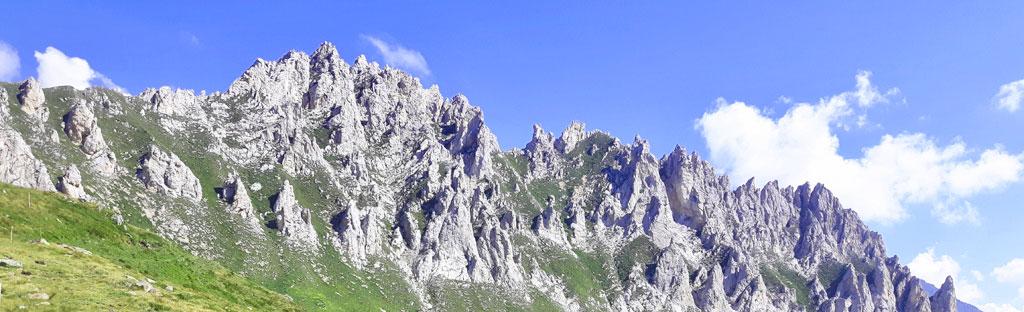ontstaan van bergen