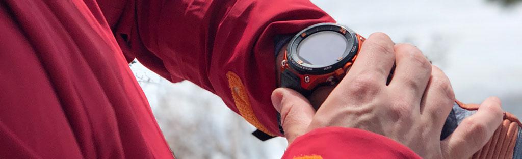 Een gps is een ideale partner in de bergen