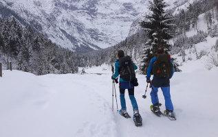 Sneeuwschoenwandelen: wintersport voor wandelaars