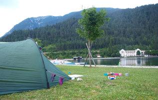8 meren met campings in Tirol
