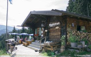De Hündeleskopfhütte: de eerste vegetarische berghut in de Alpen