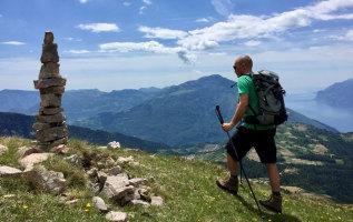 Wandelen Gardameer: Monte Stivo (2054 meter)