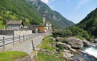 Verzascadal: spectaculaire vallei in Ticino