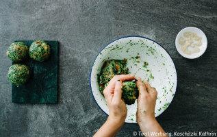Recept: Spinatknödel