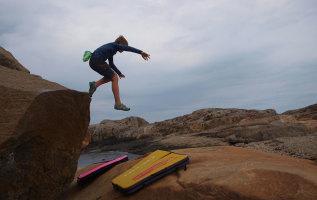 Klimmen, het verschil tussen boulderen en rotsklimmen