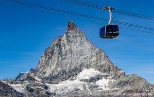 Hoogste liften naar bergtoppen in de Alpen