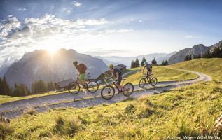 Fietsvakantie Montafon/Vorarlberg: bikeroute Itonskopf
