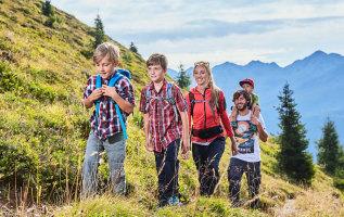 Tips voor wandelen met kinderen in Kappl