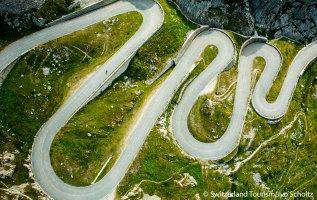7 bergpassen in Zwitserland uitgelicht