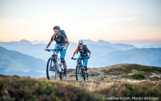 Trails voor beginnende mountainbikers in Saalbach