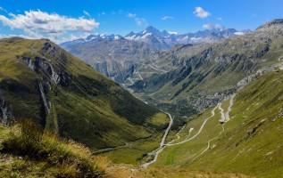 Over de Gotthard Pass