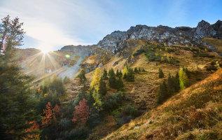 De mooiste wandelingen in Saalbach in september
