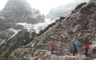 Verrast in september: wandelen in de sneeuw