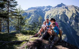 Zomer in Nauders: vakantie voor families