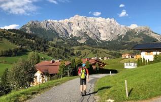 Königsweg: wandelen aan de voet van de Hochkönig