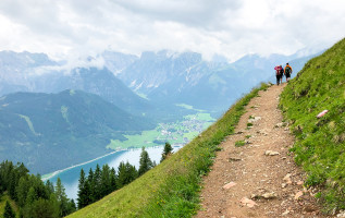 Wandelen Achensee: eenvoudige wandeling naar de Dalfazalm (1693 meter)